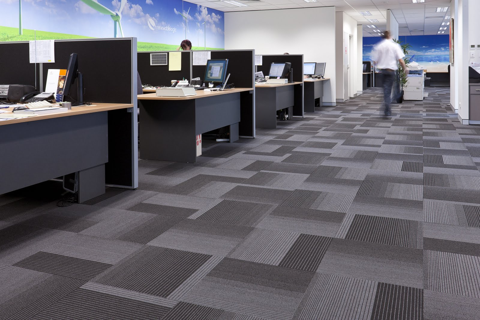 Carpet Tiles Perth, Vinyl Flooring Perth, Commercial
