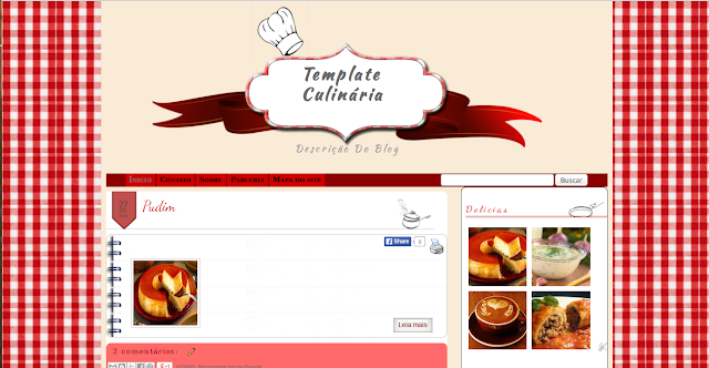 Template Culinaria