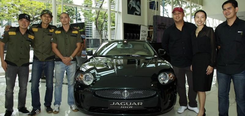 Amazing Jaguar Held First Drift Fest. Jaguar Cars Philippines ...