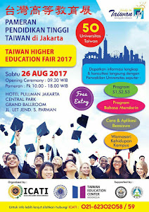 2017 Taiwan Education Fair in Jakarta @ Hotel Pullman Central Park on August 26