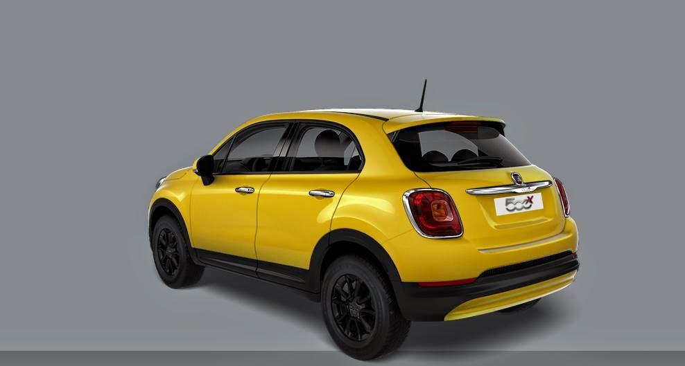 fiat 500x urban ordinabile in giallo amalfi iscrivetevi al fiat 500x club. Black Bedroom Furniture Sets. Home Design Ideas