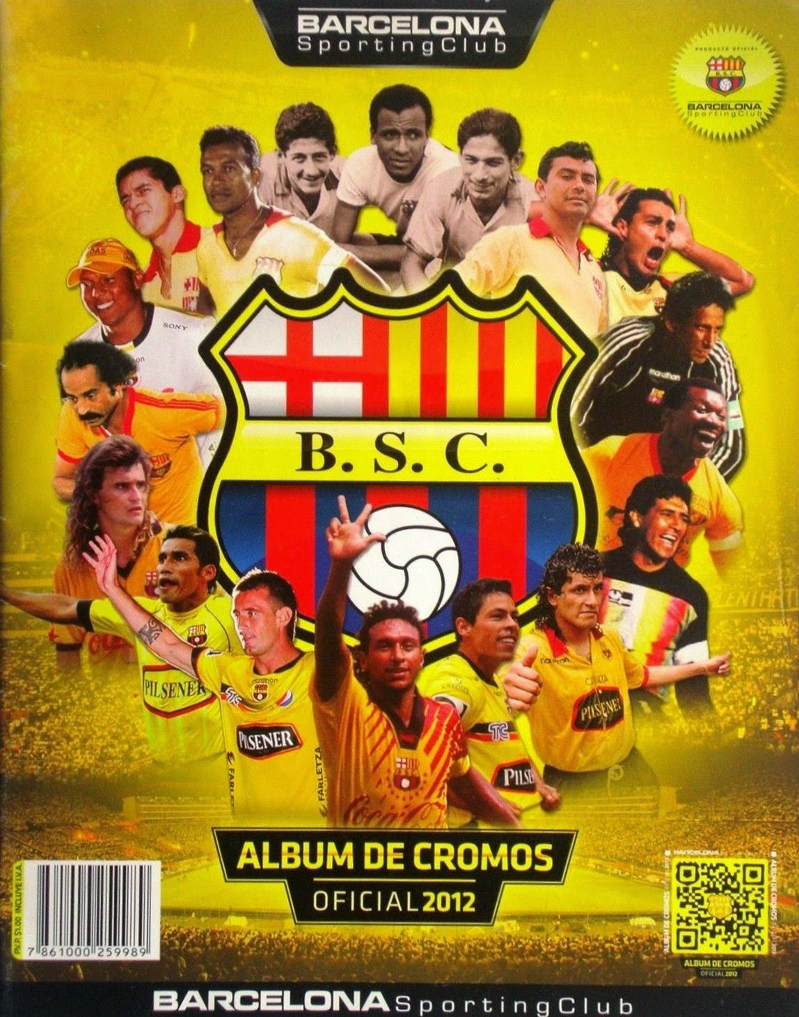 Football Cartophilic Info Exchange Unknown Issuer Ecuador Barcelona Sporting Club
