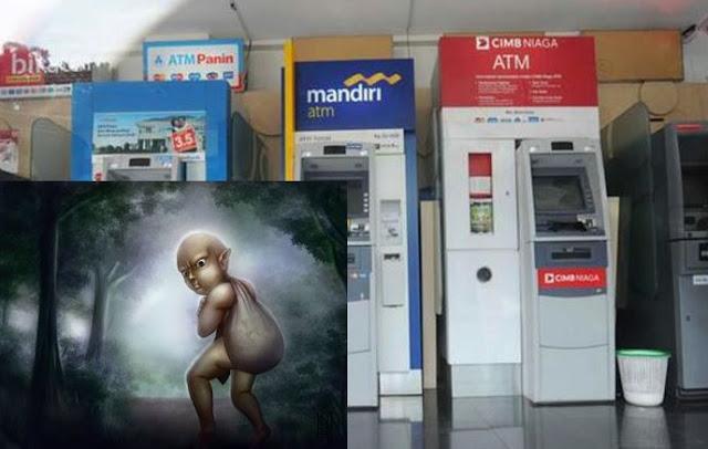 Terkuak! Ternyata Inilah Alasan Mengapa Tuyul Tidak Mencuri Uang Dari Mesin ATM