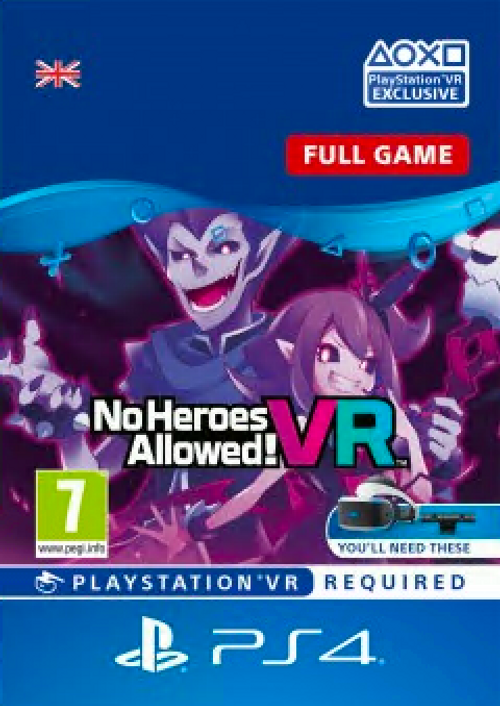 No Heroes Allowed VR PS4 UK - DLC