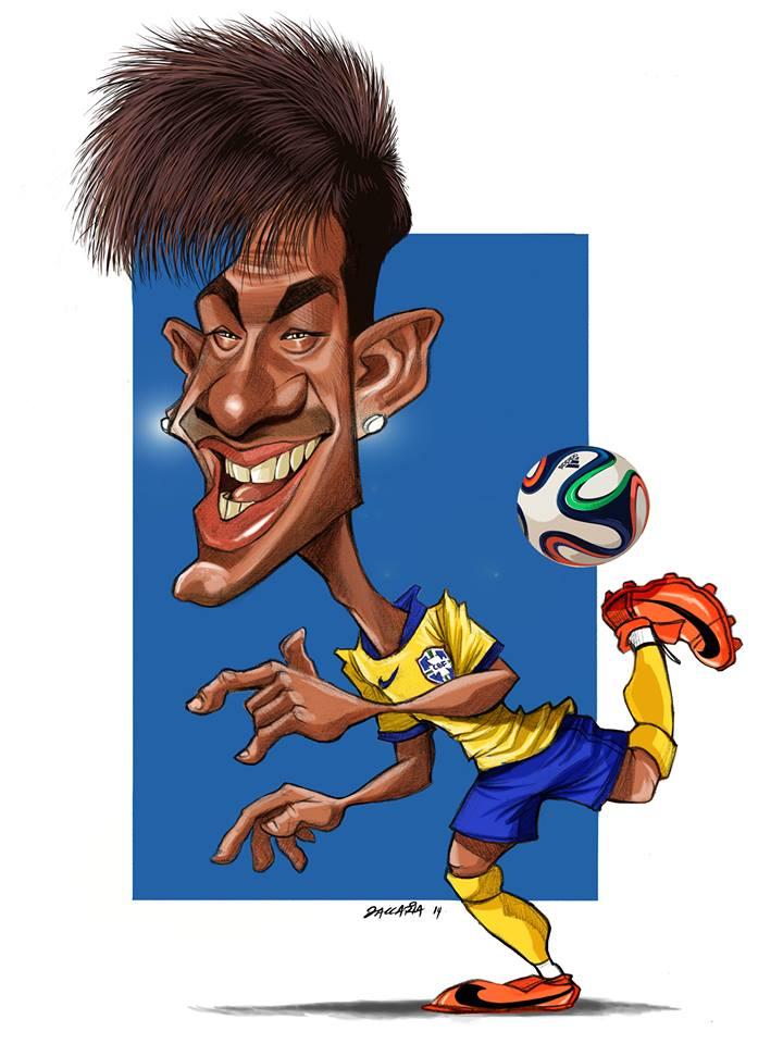 Neymar Jr. por Fabian Zaccaria