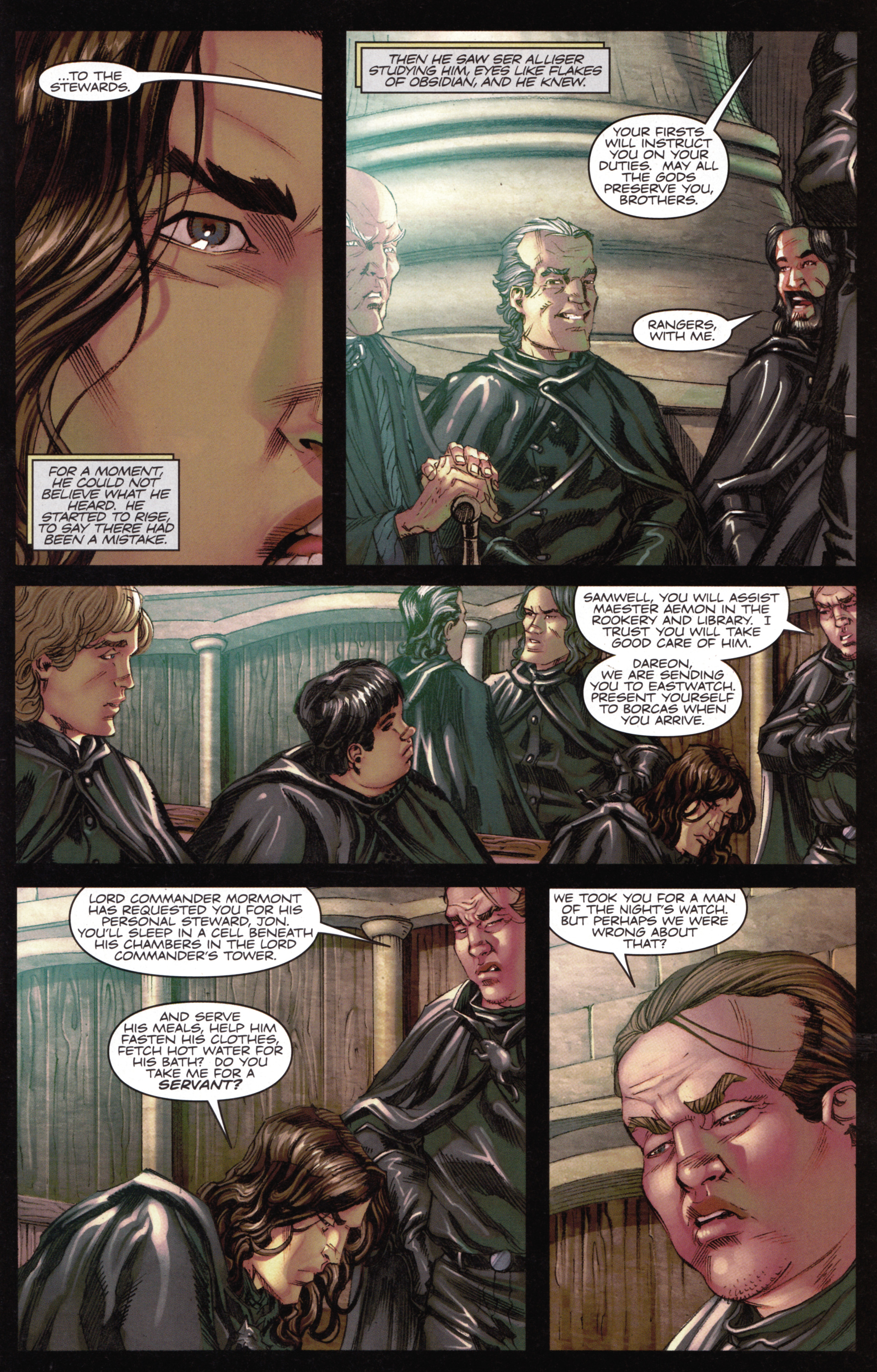 Read online A Game Of Thrones comic -  Issue #15 - 7