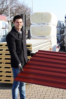 Jens Willemsen wird seinem Vater beim Carport-Bau helfen.
