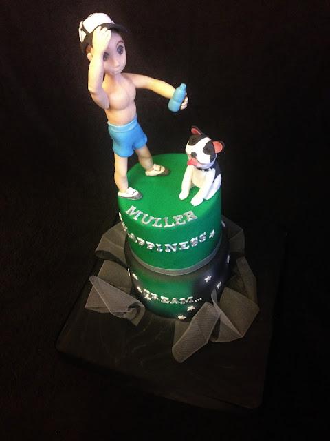 tarta perro; tarta decorada; tarta fondand; tarta sueño; tarta recuerdo; chico; amor; fiesta; regalo; cumpleaños; san valentin
