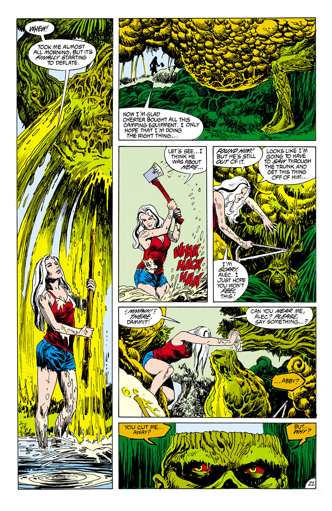 Swamp Thing (1982) Issue #75 #83 - English 20