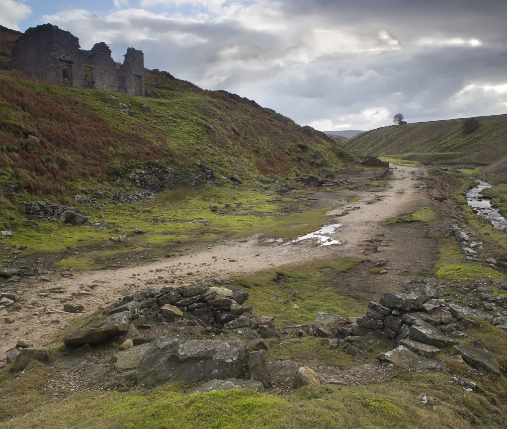paul horsman landscape photography  24th november        hebden mines