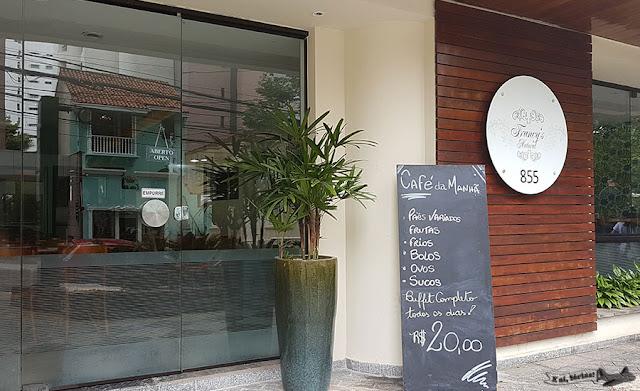 Hotel Matiz Manhattan, São Paulo, Cerqueira César, Café da manhã