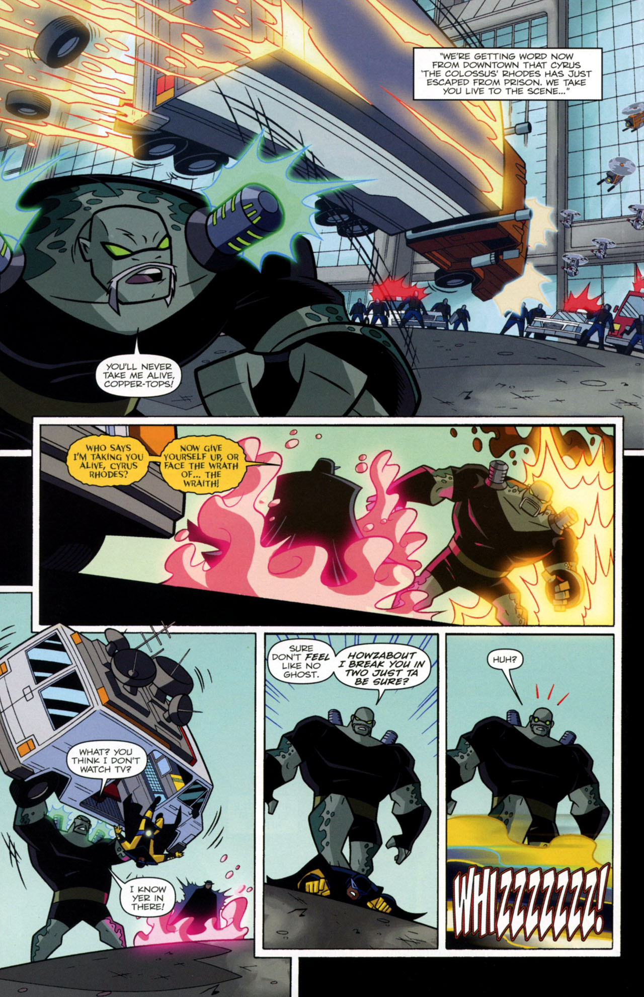 Read online Transformers Animated: The Arrival comic -  Issue #2 - 9