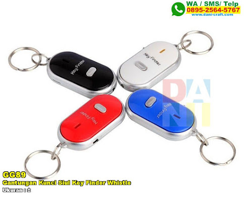 Gantungan Kunci Siul Key Finder Whistle