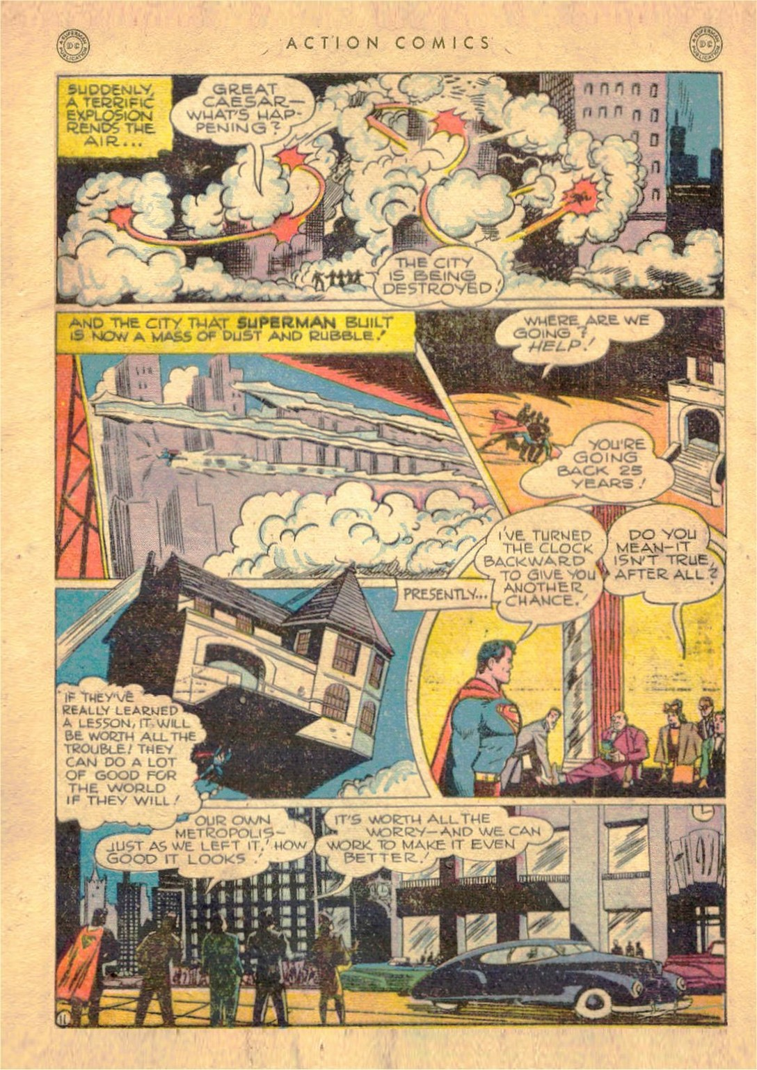 Read online Action Comics (1938) comic -  Issue #107 - 12