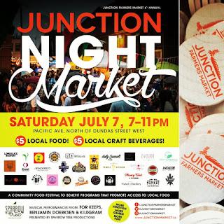 Junction Farmers Market Night Community Festival Toronto July 7, 2018