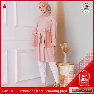 Jual RRJ063A107 Atasan Muslim Wanita Belong Tunik Mc BMGShop