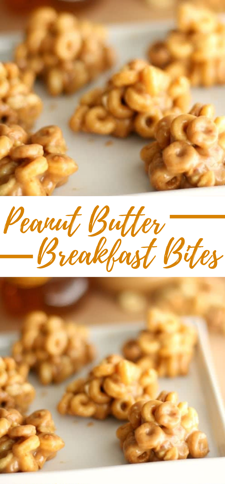 PEANUT BUTTER BREAKFAST BITES #dessert #snacks