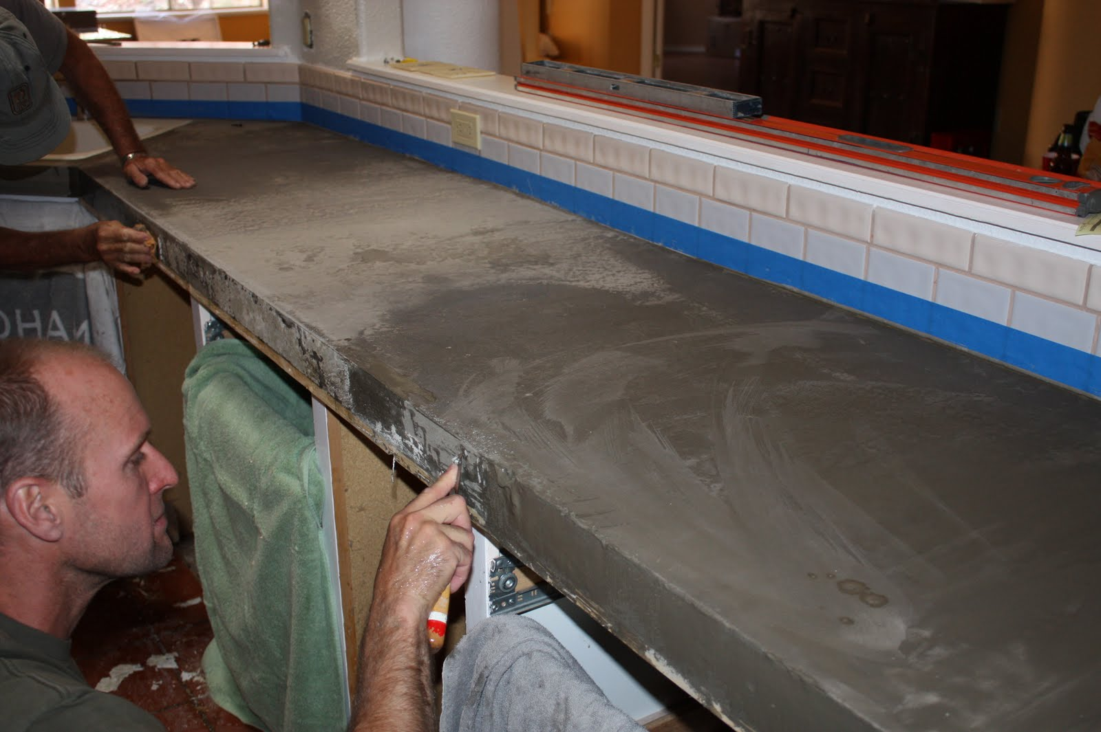 Best Place To Buy Countertops Remodelaholic Quick Install Of Concrete Countertops