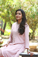 Priya Anand in simply Pink at an interview for movie KOOTATHIL ORUTHAN~  Exclusive celebrities galleries 004.jpg