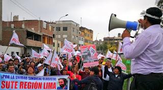 Sutep hace llamamiento a participar en la lucha pedagógica