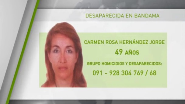 La Policía Nacional suspende la búsqueda de Carmen Rosa Jorge,  desaparecida en el Pico de bandama ya que podría ser voluntaria