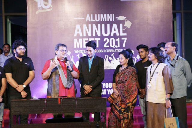 Mr Subhash Ghai with WWI Alumni