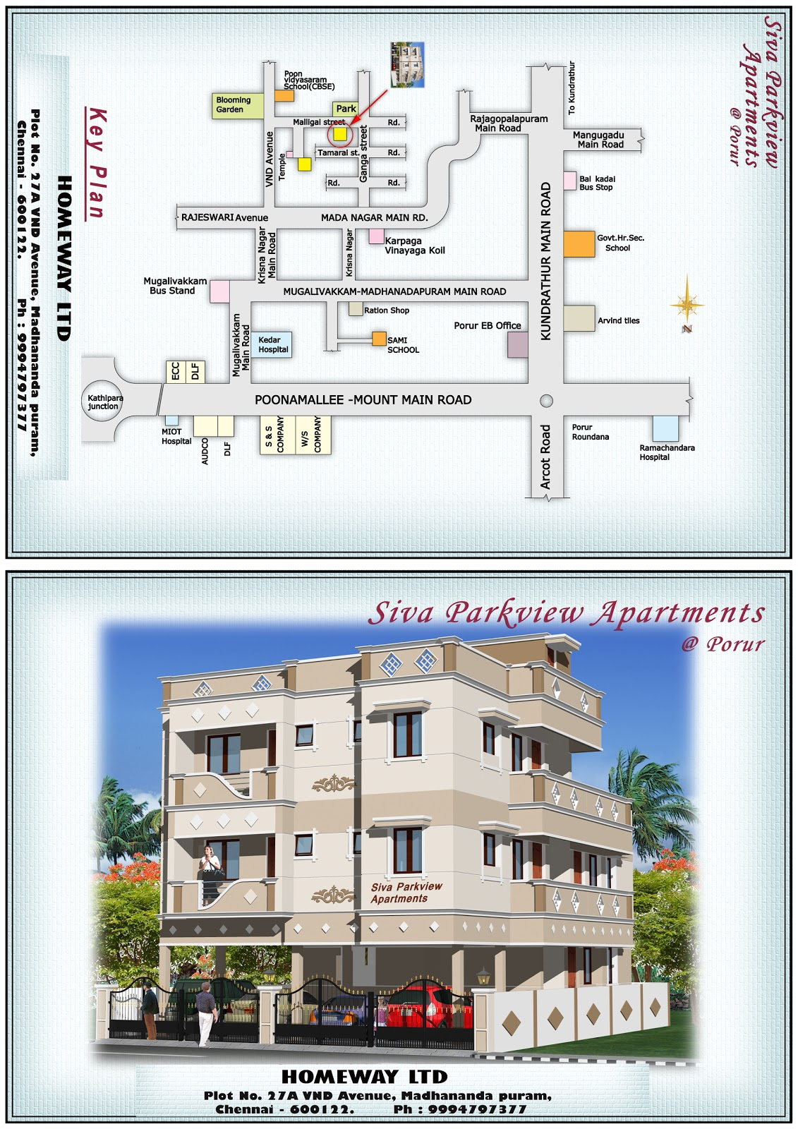 Apartment Floor Plans Chennai