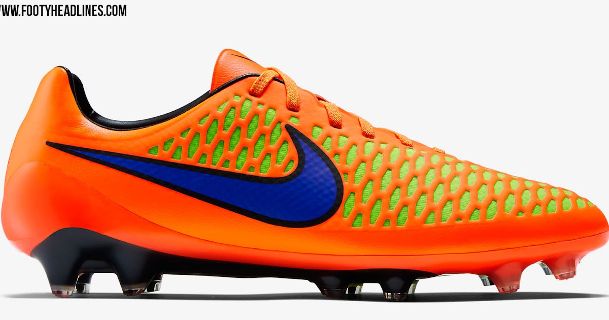 aff1912df Orange Nike Magista Opus Intense Heat Pack 2015 Boots Released - Footy  Headlines
