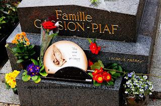 Edith Piaf grave, Pere Lachaise