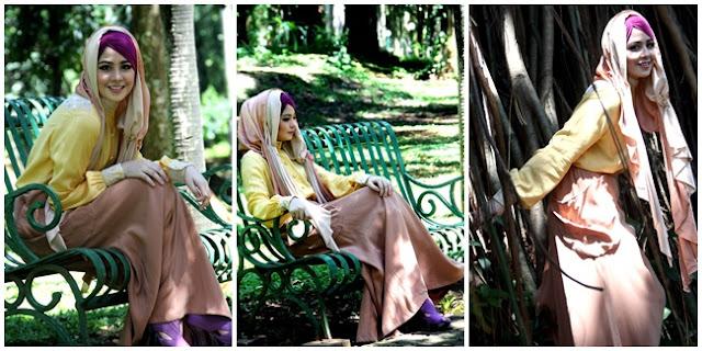Tips Sederhana dalam Memadukan Blus dan Hijab
