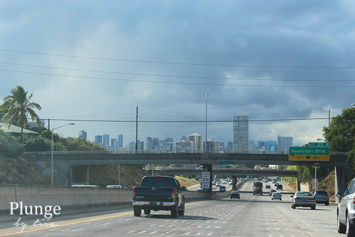 Kalanianaole highway, Oahu