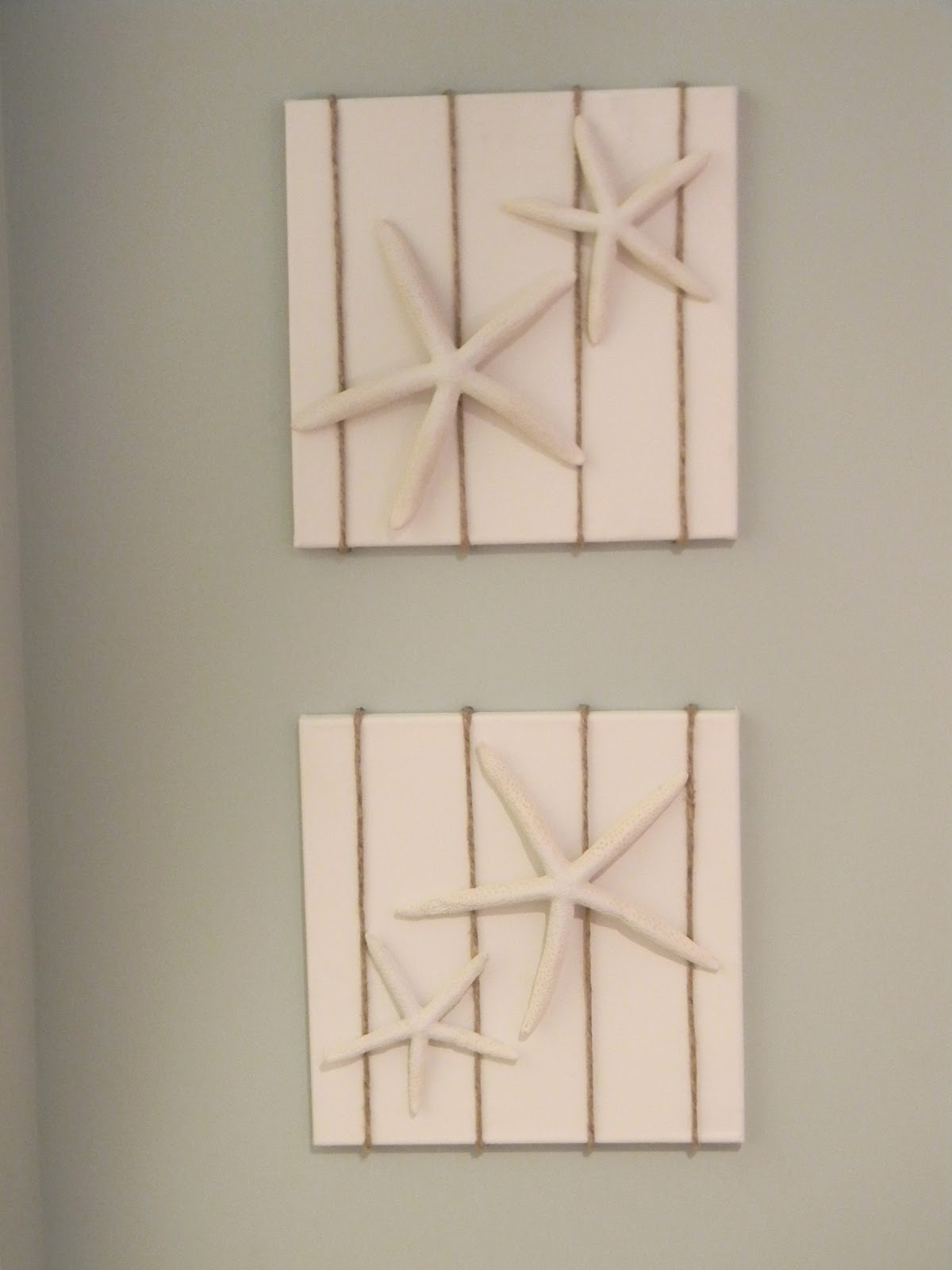 Seaside Interiors: DIY Starfish Art