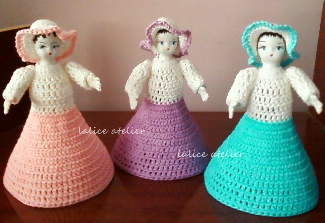 boneca crochê, boneca garrafa pet, muñeca botella, crochet doll,pet bottle doll,muñeca ganchillo,
