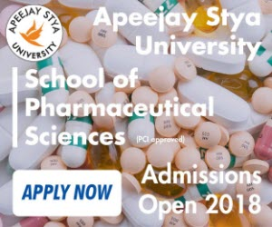 Apeejay Stya University, School of pharmaceutical Sciences