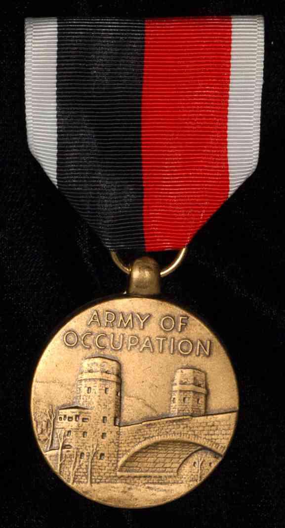 Neko Random A Look Into History Army Of Occupation Medal