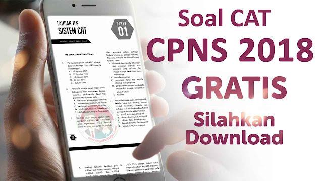 Soal Latihan CAT CPNS 2018 Beserta Pembahasannya