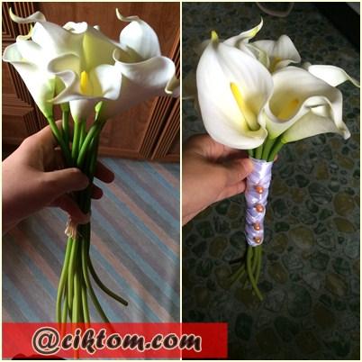 DIY Bunga Tangan Pengantin Mudah dan Murah
