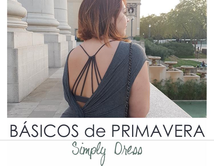 BÁSICOS DE PRIMAVERA - SIMPLY DRESS (VI)