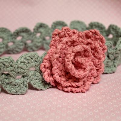 Flor de crochê passo a passo