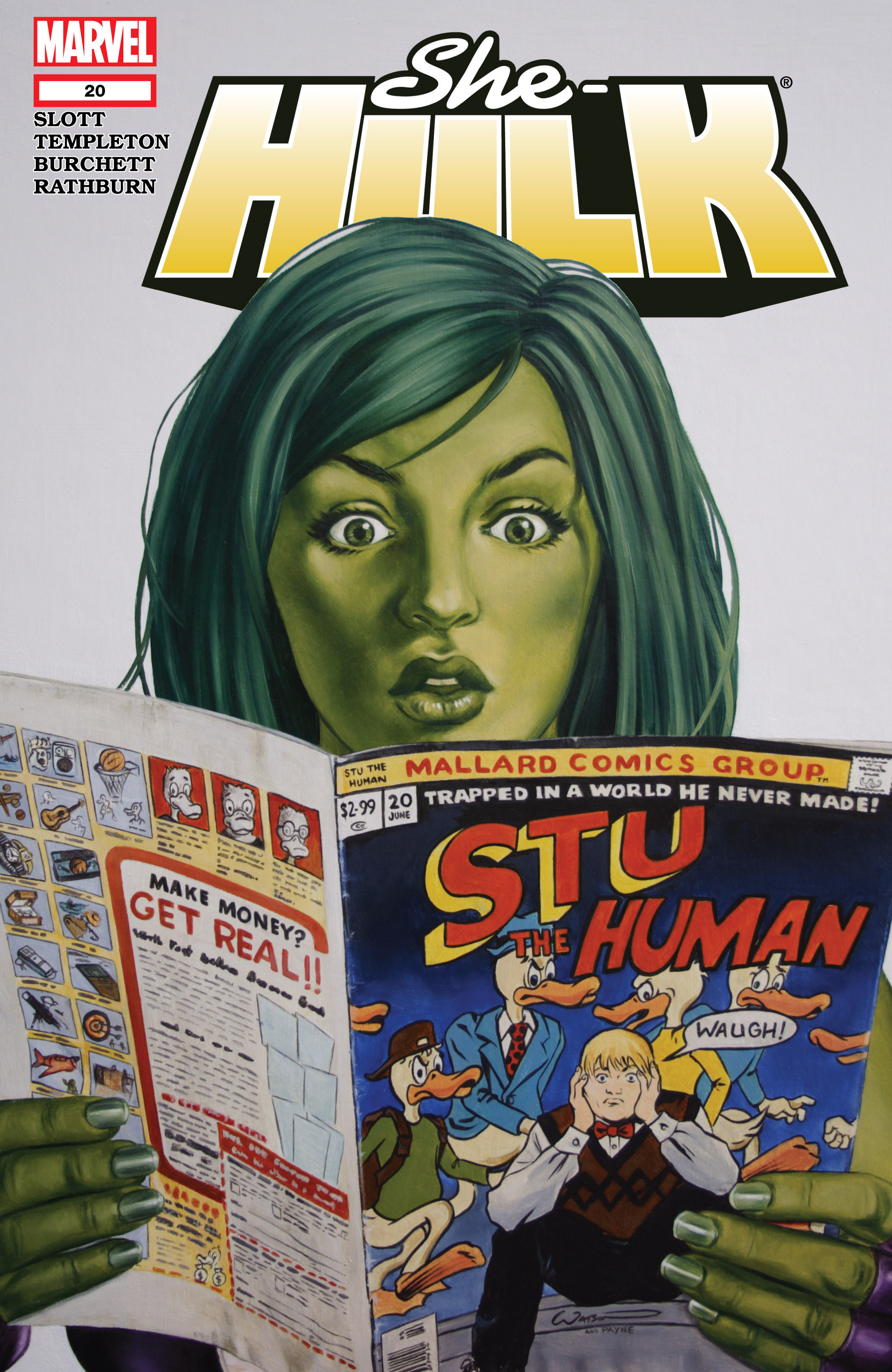 Read online She-Hulk (2005) comic -  Issue #20 - 1