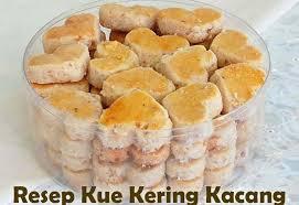 Resep Kue Kering Kacang Tanah Renyah