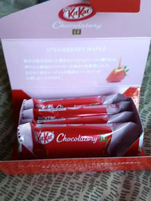 Strawberry Maple Kitkat