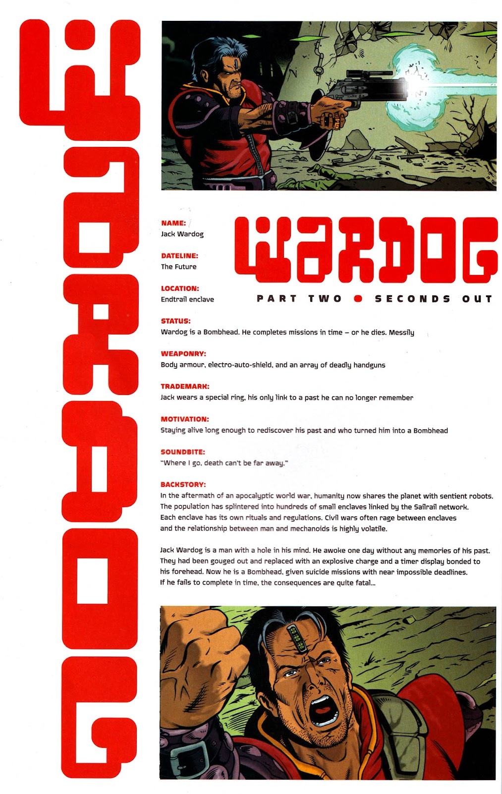 Read online Judge Dredd Megazine (vol. 4) comic -  Issue #2 - 36