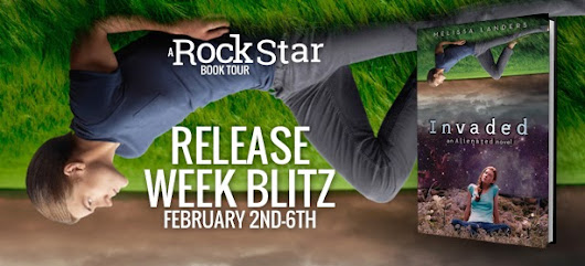 Release Week Blitz and Giveaway- Invaded by Melissa Landers