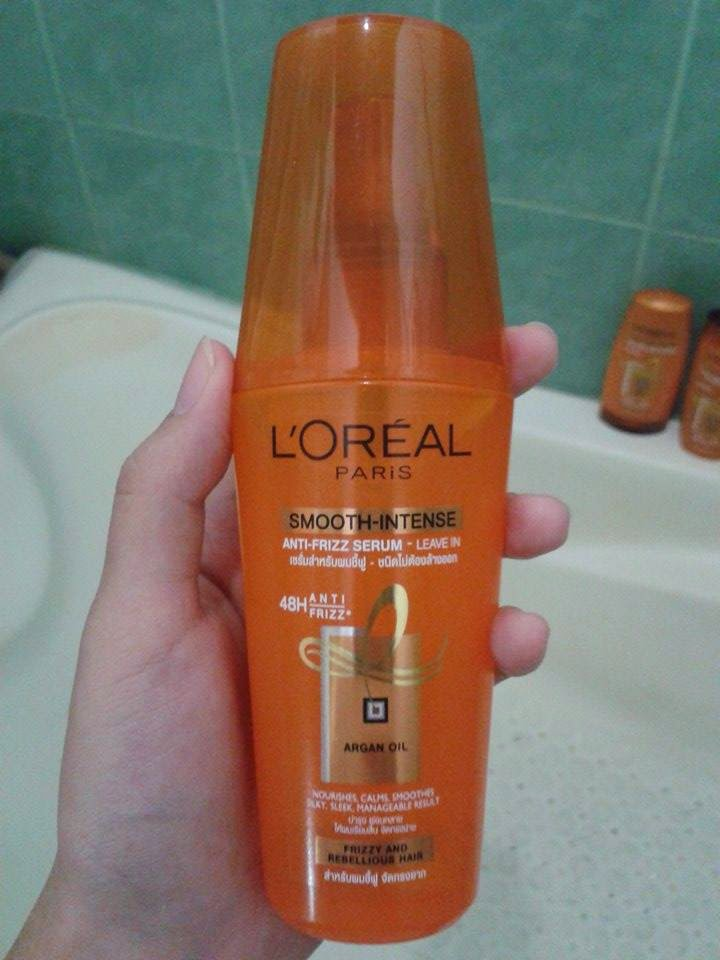 L Oreal Smooth Intense Anti Frizz Serum