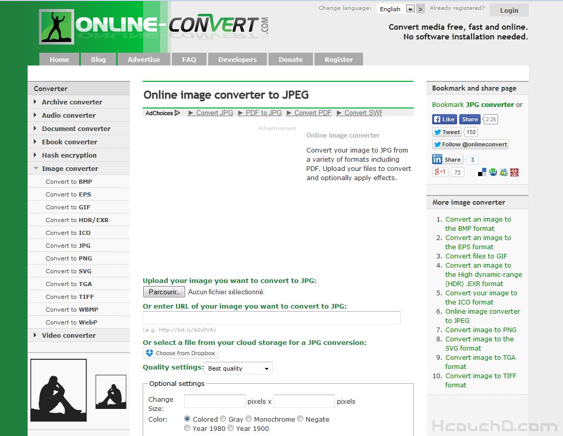 > موقع image online-convert :