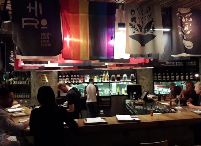 Israel by Hadarling Hiro Ramen Bar by Israel Aharoni