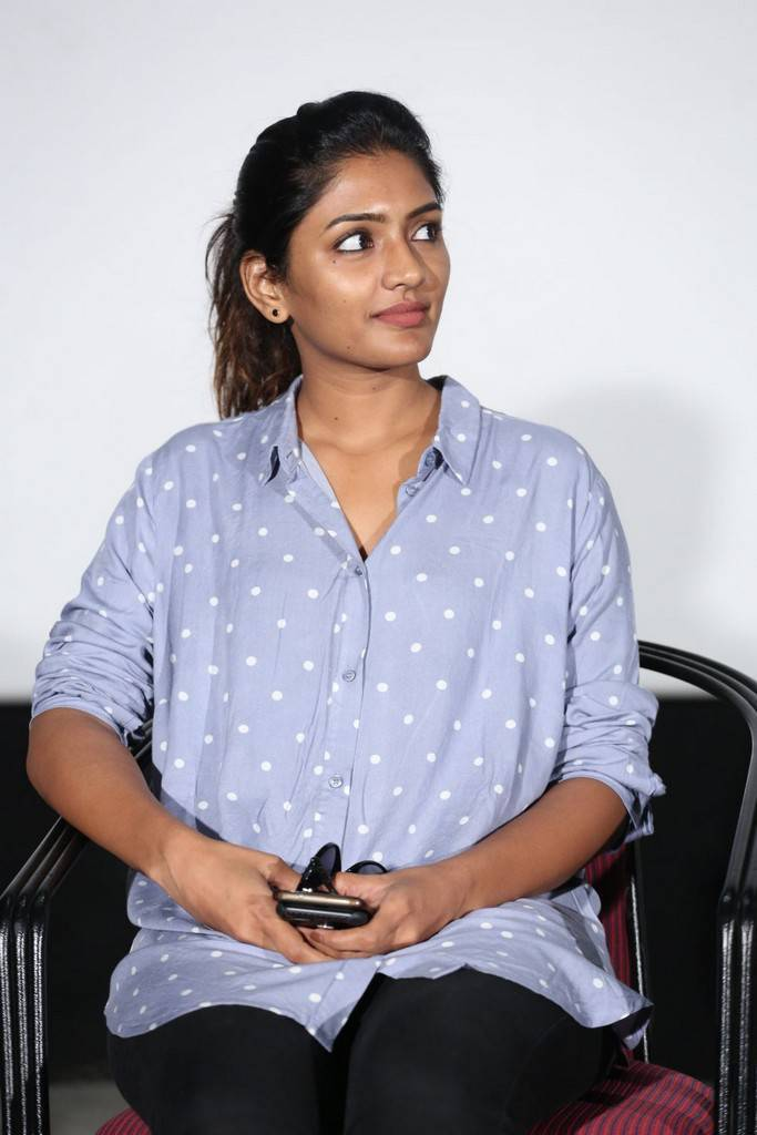 Actress Eesha At Darshakudu Movie Success Meet Gallery