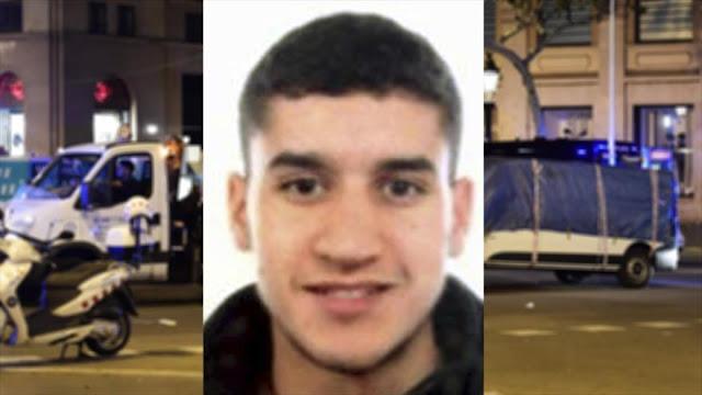 Sospechoso de ataque en Barcelona podría haber cruzado a Francia