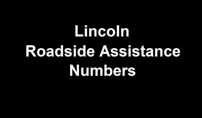 Lincoln  Roadside Assistance Number 2021